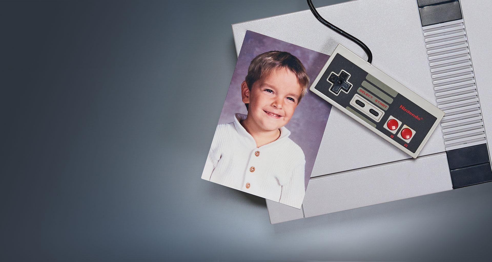 """""""Mit 6 Jahren hatte ich meinen ersten Nintendo. Und einen Plan: Ich will selbst Spiele entwickeln."""" """""""